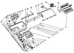Гайка плиткореза Энкор Корвет 460-650 (рис.45) - фото 21054