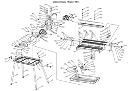 Направляющая плиткореза Энкор Корвет 464 (94640) (рис.49) - фото 21116