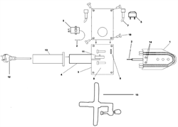 Накладка рукоятки \ Handle sleeving, 63WN13 аппарата для сварки полипропиленовых труб Elitech СПТ 1500 (рис.13) - фото 21570