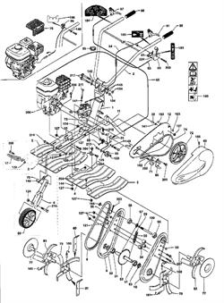 Шестерня редуктора культиватора Pubert Promo 65 BC (рис.57)