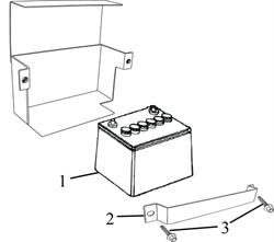 фланцевый болт М6Х12 \ BOLT, FLANGE, M6?12 бензогенератора Elitech БЭС 12000 Е (рис.3) - фото 22206