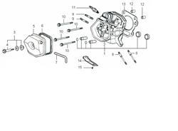 Сальник цилиндра бензогенератора Elitech БЭС 2500 Р (рис.6) - фото 22804