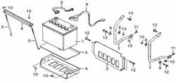Болт фланцевый бензогенератора Elitech БЭС 6500   (рис.11) - фото 23390