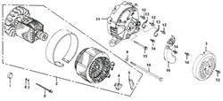 Шайба бензогенератора Elitech БЭС 6500   (рис.9) - фото 23428