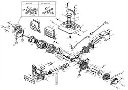 приборная панель 3MGG950101 бензогенератора Elitech БЭС 950  (рис.57) - фото 23508
