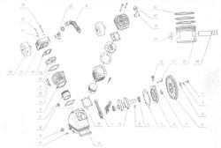 Коленвал компрессорной головки ElitechТС 2090 (рис.10) - фото 24736