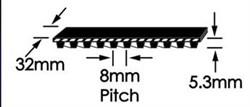 Ремень зубчатый шевронный  GoodYear W-1280 - фото 26277