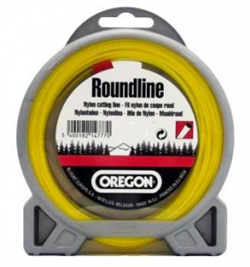 Леска Roundline D 1,6 мм L 15 м (круглая, желтая) - фото 28108