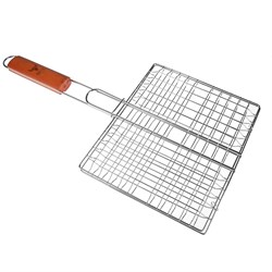 GRILLBOOM Решетка-гриль хром., 21х25х2см, эконом