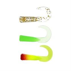 AZOR FISHING Приманка мягкая K.Good , силикон, 3см, 12шт. в уп, 5 цветов