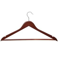 Вешалка деревянная 45см, цвет венге