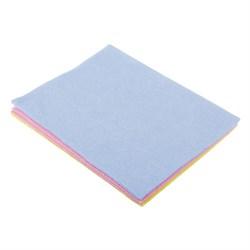 Набор салфеток, нетканый материал, 3шт, многофункциональных, 33x38см, 3 цвета
