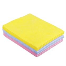 Набор салфеток для кухни 3шт, вискоза, 30х38см, плотность 90г/м, 3 цвета