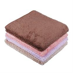 Салфетка из микрофибры для мебели ультравпитывающая 40х40см, 280г/кв.м., 4 цвета