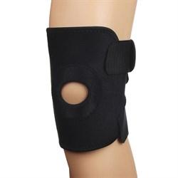 Суппорт на колено, на липучке, с фиксир. вставками, 50х18,8см, нейлон, неопрен, пластик