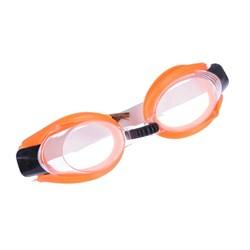 Очки детские для плавания+заглушки для ушей+прищепка для носа, ПВХ+пластик+резина, 5 цветов