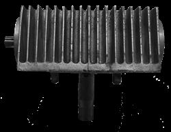 Коробка передач в сборе (правая)  двухроторной затирочной машины Tremmer CT836 - фото 29449