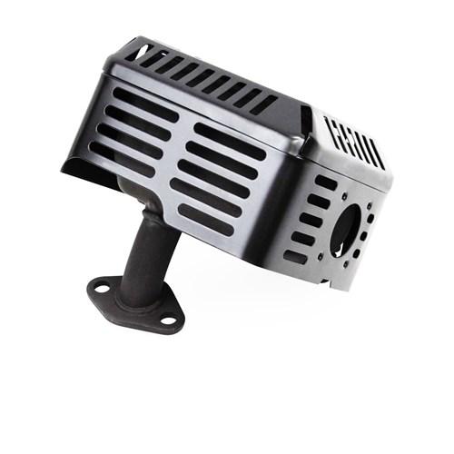 Глушитель двигателя GX200