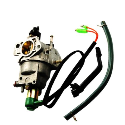 Карбюратор с соленоидом GX270 (с рычагом привода возд. заслонки)