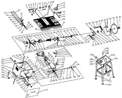 Блок фиксирующий пильного станка Энкор Корвет-11 (рис.10)