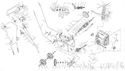 Шкив ведущий привода колес снегоуборщика ЭНКОР МС 110-1 ЭЛ (рис.6)