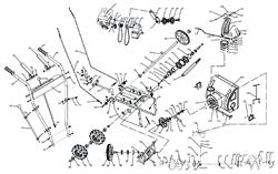 Рукоятка привода колес снегоуборщика ЭНКОР МС 55-1