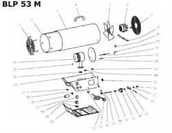 Горелка тепловой пушки VANGUARD BLP 53 M - фото 51926