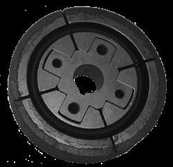 Муфта сцепления для вибротрамбовки  вал 15 мм - фото 5328