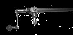 Рычаг регулировки подъема диска в сборе нарезчика швов Masalta MFS14-4 - фото 5372