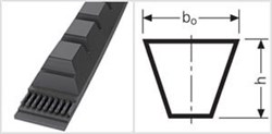 Приводной зубчаты клиновой ремень узкого профиля ХРB 1180 Ld L=L РiО