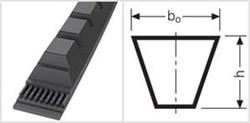 Приводной зубчаты клиновой ремень узкого профиля ХРB 1500 Ld L=L