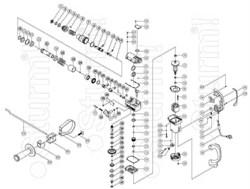 игольчатый подшипник НК1210 перфоратора Sturm RH2514 (рис.85) версия 1 - фото 55763