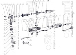 Наружный фланец болгарки Sturm! AG9012T (рис.1) - фото 56331