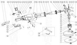 Крышка щеткодержателя болгарки Sturm! AG9524P (рис. 45) - фото 57590