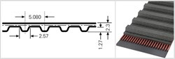 Зубчатый приводной ремень  160 ХL, L=406,4 mm - фото 57868