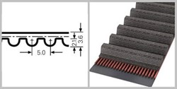 Зубчатый усиленный приводной ремень НТD 425 5М СХР