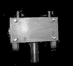 Редуктор (тип Б) для двухроторной затирочной машины GROST ZMD-750 - фото 5939