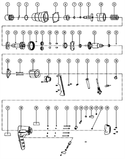 Корпус редуктора сетевого  гайковерта ЗГУЭ-350 (рис.4)