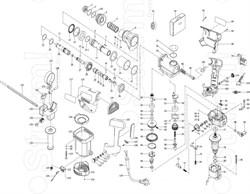 Корпус мотора перфоратора Sturm! RH2510 (рис. 121) - фото 60018