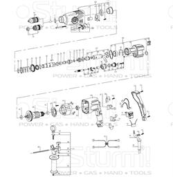 Зубчатый вал перфоратора Sturm! RH2509BZ (рис. 58) - фото 60044