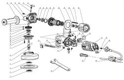Кольцо стопорное сжимное D30 UM06-002-004 болгарки Зубр ЗУШМ-125-800_z01 (рис.26) - фото 60223