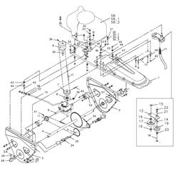 болт с шестигранной головкой подметальной машины Tielbuerger TK17 (рис.15) - фото 60804