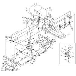 Цепь ролика подметальной машины Tielbuerger TK17 (рис.51)