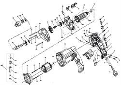 Выключатель FA2-6/1 BEK 6(6)A 250V~ 5E4 дрели Зубр ЗДУ-850-ЭРМ (рис.4) - фото 61114