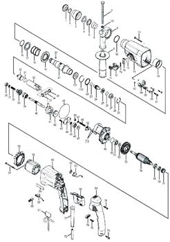 Корпус статора перфоратора Sturm RH2591P (рис.60) - фото 61212