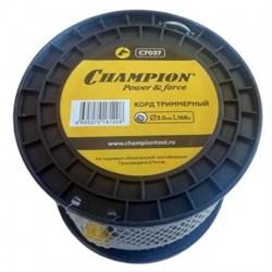 Корд тримерный CHAMPION Aluminium 3.0мм*280м (круглый)+нож - фото 63606