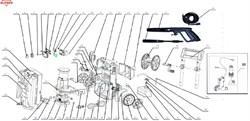 Электромотор НС 9640С с помпой  минимойки Elitech М1800РБК - фото 66029