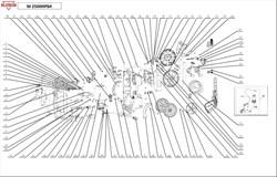 Накладка корпуса правая минимойки Elitech М2500ИРБК - фото 66199