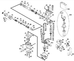 Колцеобразное уплотнение 11x2 перфоратора EINHELL BBH 950 (рис.28) - фото 66234