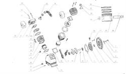 Шатун компрессорной головки ElitechТС 2095 (рис.11) - фото 66796